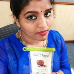 Pearl Organic Face Pack review Geetha Selfie