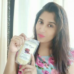 pearl organic natural saffron and rose petal face pack review by jeevitha