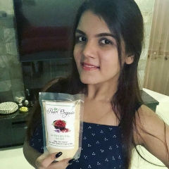 Pearl Organic Face Pack Review by Inika Manohar